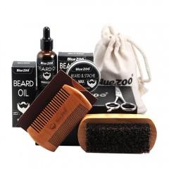 Набор мужской косметики и инструментов для ухода за бородой и усами