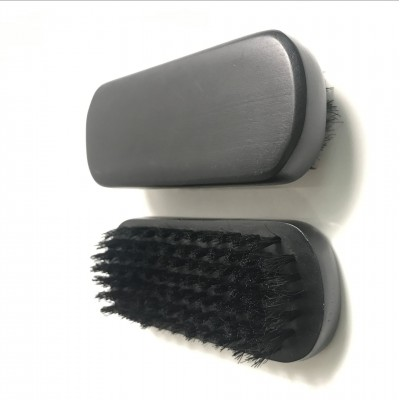 Щетка для бороды и усов SCHE-OVAL-05: изготовлена из бамбука. Прямоугольная